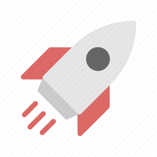 boost, fast, launching, rocket, up icon