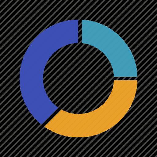 chart, graph, pie, stats icon
