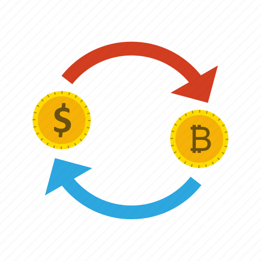 bitcoin, dollar, exchange, money icon