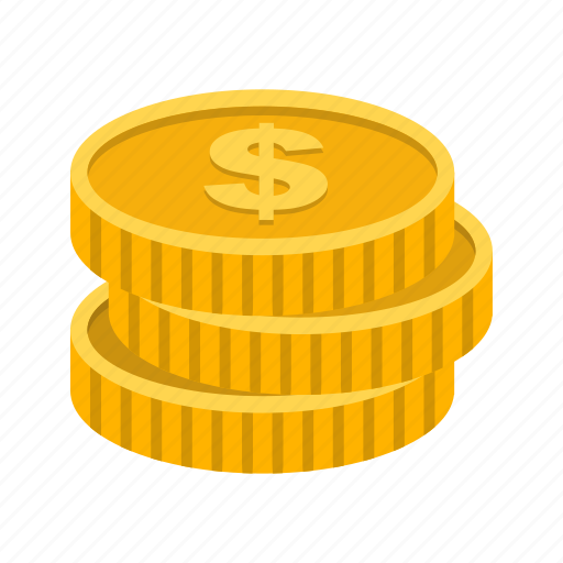 Coins, dollar, gold icon - Download on Iconfinder