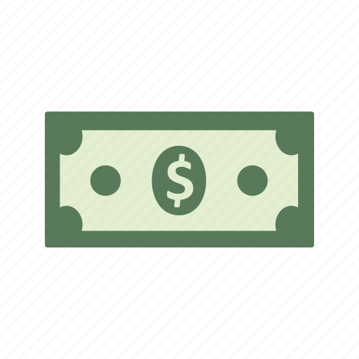 bank note, currency, dollar, money icon