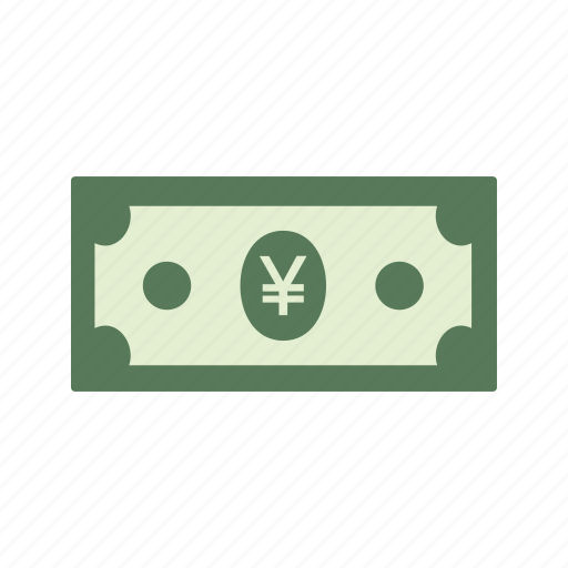 bank note, currency, money, yen icon