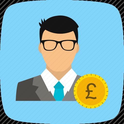 avatar, man, pound, user icon