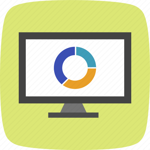 ecommerce, marketing, pie chart, strategy icon