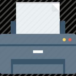 paper, print, printer, printing icon icon