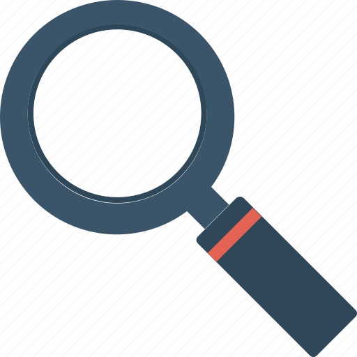 find, glass, magnifying, search icon icon