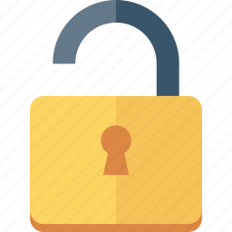 open, unlock, unlocked icon icon