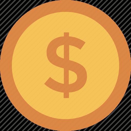 Coin, dollar, finance, money icon icon - Download on Iconfinder