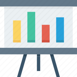 analytics, market data, research, screen, seo, statistics icon icon