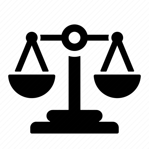 balance, compare, justice, measurement, scale, weight icon