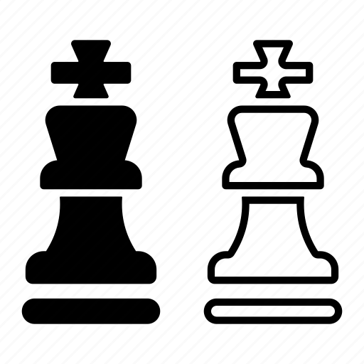 chess, competitor, competitors, game, king, strategy icon