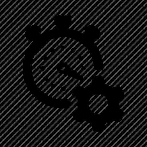 efficiency, productivity, progress, stopwacth, useful, work icon