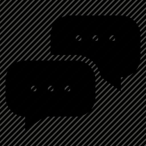 bubble, chat, message, speech, speechbubble, talk icon
