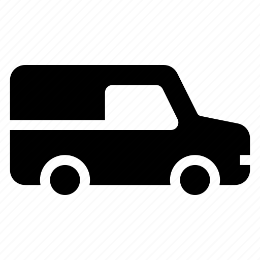 car, delivery, transitvan, transport, van, vanfleet, vehicle icon