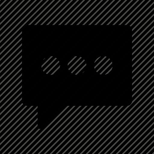 bubble, chat, comment, conversation, message icon