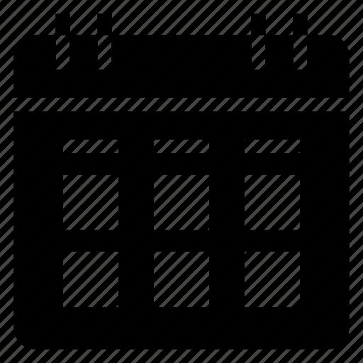 calendar, date, day, event, monthlycalendar, schedule, wallcalendar icon