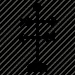 arrow, arrows, direction, move, navigation, road, way icon