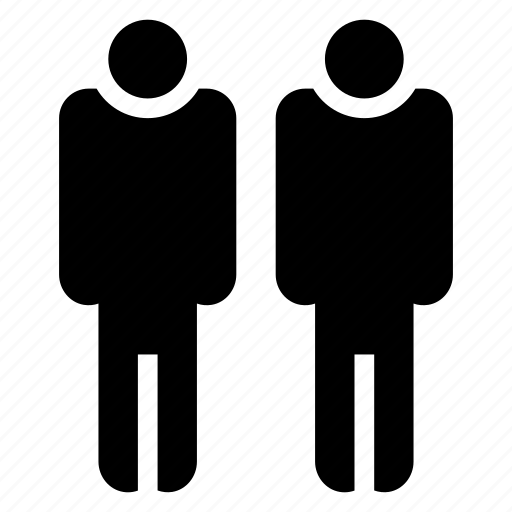 clothes, couple, male, mans, team, user, users icon