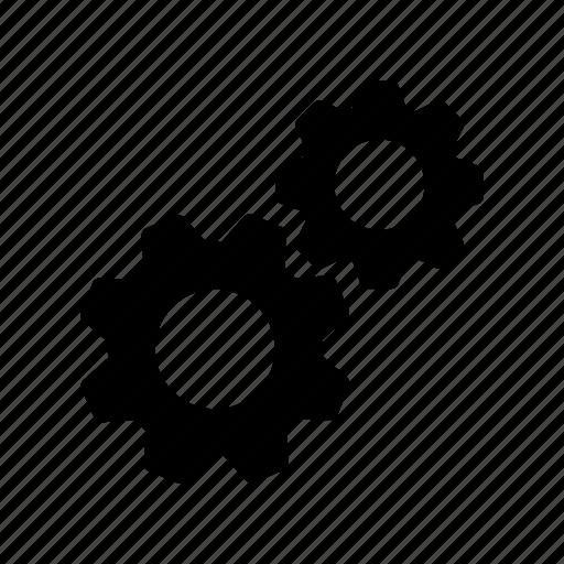 configuration, fix, gear, setting, tool icon
