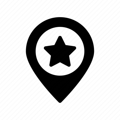 location, map, mark, pointer, position icon