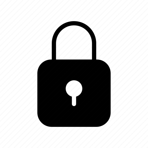 lock, padlock, protected, safe, secure icon
