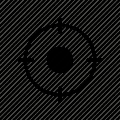 achivement, aim, focus, goal, target icon
