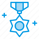 award, badge, medal, star, veteran icon