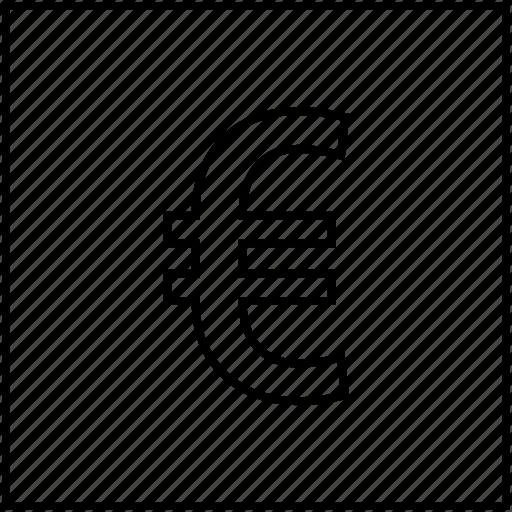 bills, business, cash, euro, money icon