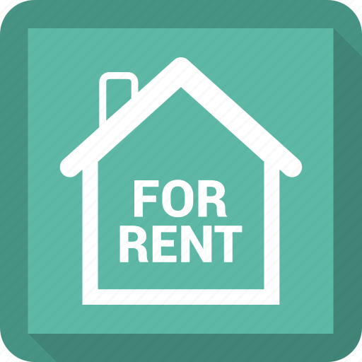 estate, for rent, home, house, real icon