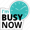 business, busy, communication, meeting, office, time icon