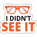 business, communication, eye, glasses, search, watch icon