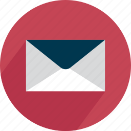 contact, correspondence, email, mail, message, send icon