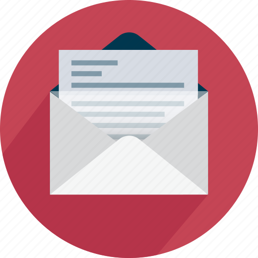 contact, envelope, mail, message, open, send icon