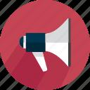 announce, broadcast, broadcasting, loud, loudspeaker, megaphone, speaker icon
