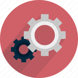 part, red, services, settings, tool, work icon