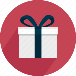 gift, holiday, package, paper, red, surprise icon