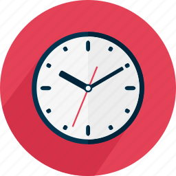 circle, clock, deadline, hour, time, timing icon