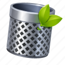 bin, delete, rubbish icon