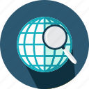 business, earth, globe, grid, money, planet, startup icon