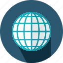 geography, globe, maps, planet, web icon
