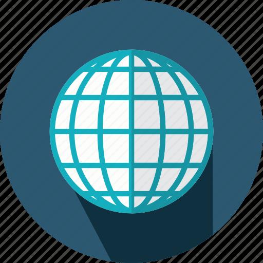 geography, globe, maps, planet, web icon