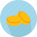 bag, bank, business, cash, coins, currency, stack icon