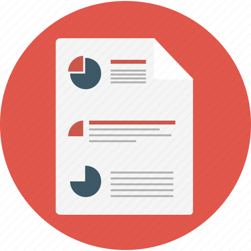chart, doc, infographic, pie icon