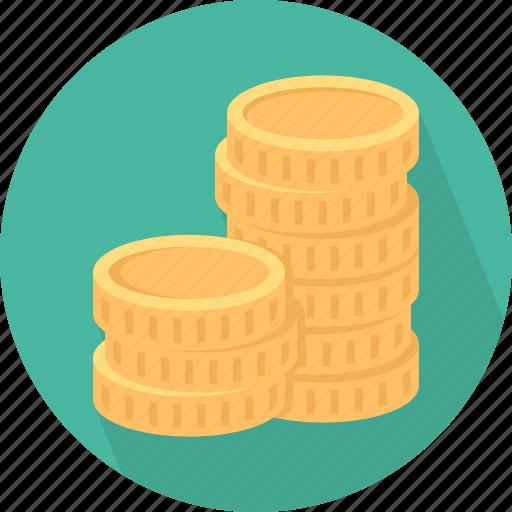 coins, money icon