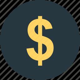 cont, dollar, money icon