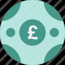 coin, pound