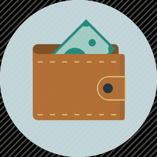 bill, men, money, wallet icon