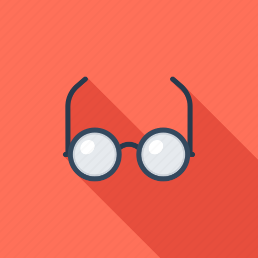 analytics, eyewear, glasses, research, spectacles, view, vision icon