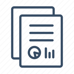 business, data research, document, page, reports, summary icon