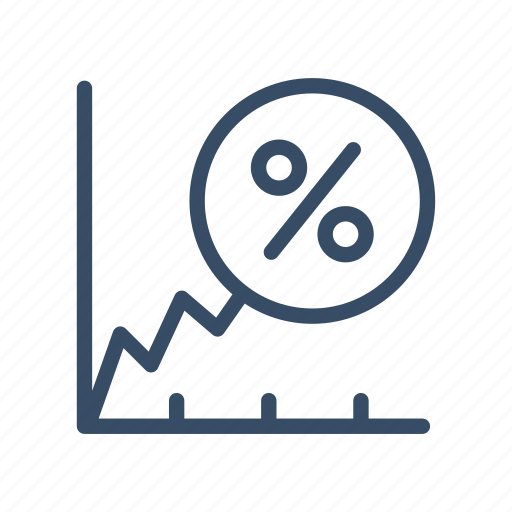 analysis, gain, growth, increase, profit, revenue growth, statistics icon